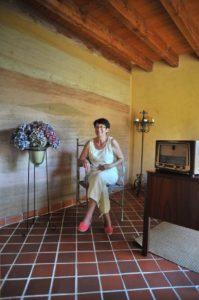 Visite maison ossature bois isolation paille à Cornillé(35). @ Cornillé (35) @