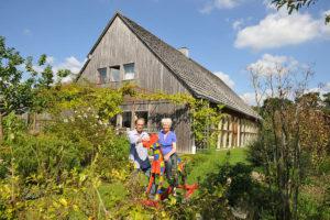 Visite maison et atelier à ossature bois à Saint-André-des-Eaux(22). @ Inconnue